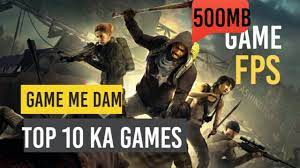 Install Game FPS 500 Mb